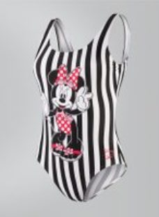 Adult Disney Minnie Mouse Placement U Back